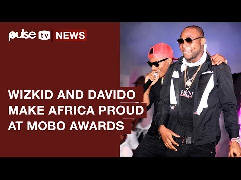 MOBO Awards 2017: Wizkid and Davido Win Big as They Make Africa Proud | Pulse TV News
