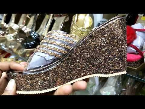 WHOLESALE MARKET OF LADIES SANDEL    LADIES FOOTWEAR WHOLESALE MARKET  SANDALS, BELLIES, CHAPPALS
