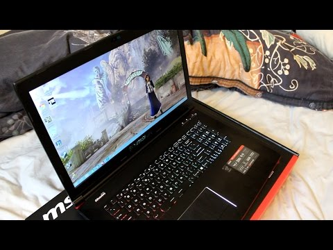 MSI GE72 2QD Apache Gaming Notebook Review