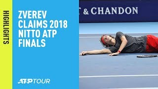 Highlights: Zverev Defeats Djokovic In Final Of Nitto ATP Finals 2018