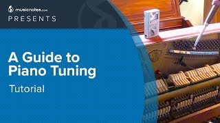 Piano Tuning Tutorial - How to Tune A Piano - DIY | Musicnotes.com