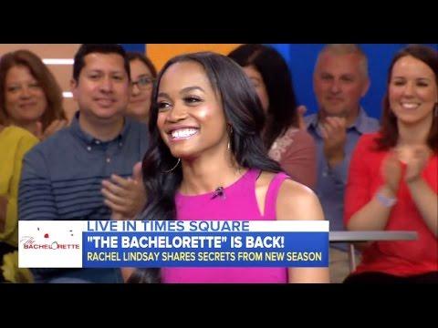 Rachel Lindsay - New Bachelorette Is Engaged - GMA