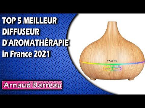 TOP 5 MEILLEUR DIFFUSEUR D'AROMATHÉRAPIE in France 2021