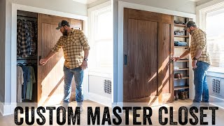 AMAZING Custom Master Closet