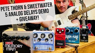 Pete Thorn's Pedal Shoot-Out with Sweetwater