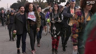 A Boombox Procession Honors Lives Lost in Ghost Ship | KQED Arts