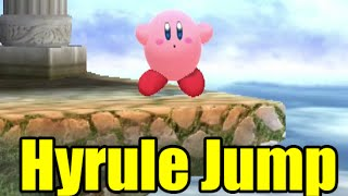 Who Can Make The Reversed Hyrule Jump In Super Smash Bros Wii U (2.0 Final)