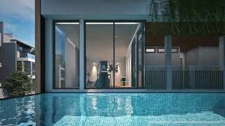 Secure Estate of Luxury Town Homes in Construction at Sukumvit 101, Phunnawithee