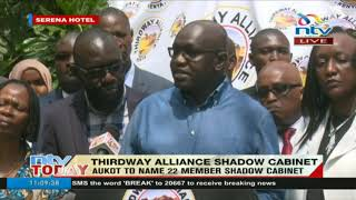 Aukot names 21-member shadow Cabinet - VIDEO