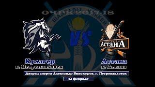 Обзор матча «Кулагер» - «Астана» (14.02.2018)