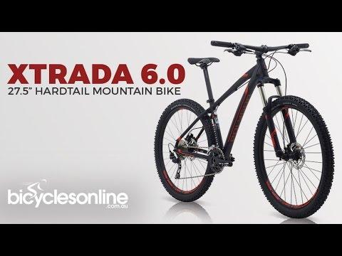 2017 Polygon Xtrada 6.0 - 27.5 inch Mountain Bike - YouTube