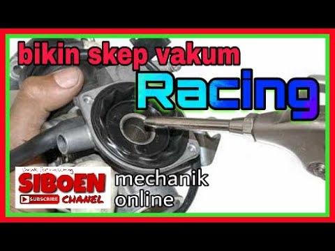 Oprek karbu vakum , rasa racing #siboen tutor