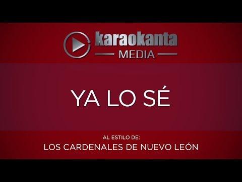 Ya lo sé Cardenales de Nuevo León