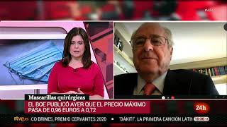 La Fundación España Salud pide que la rebaja del IVA se extienda a las mascarillas FFP2 17 nov 2020