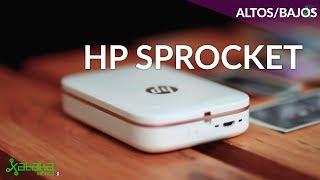 HP Sprocket. Imprimir fotos donde sea a costa de calidad
