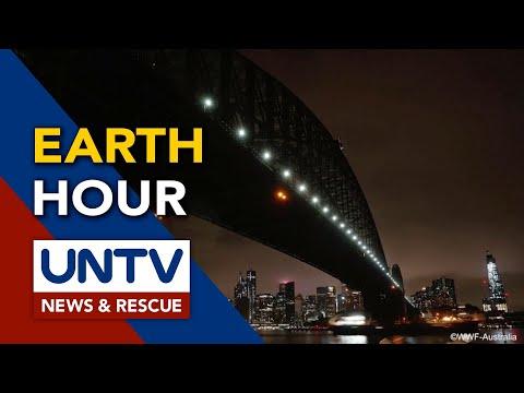 [UNTV]  Mga landmark sa iba't ibang bansa, nagpatay ng ilaw bilang pakiki-isa sa Earth Hour