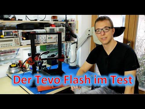 3D Drucker im Test: TEVO Flash - So macht das Drucken Spaß!