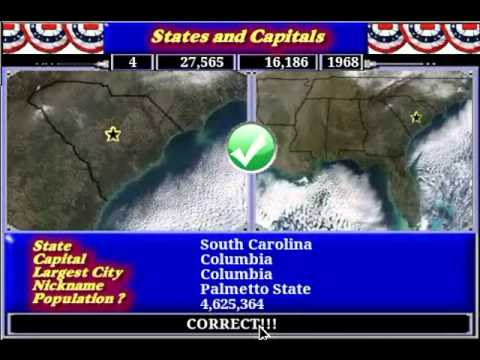 Video of States and Capitals
