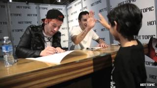 twenty one pilots - In Store Appearance Hollywood & Highland