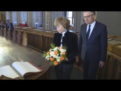 Fernández de la Vega en Lituania: la memoria histórica y la mirada al futuro