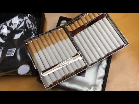 Kurztest Zigarettenetui