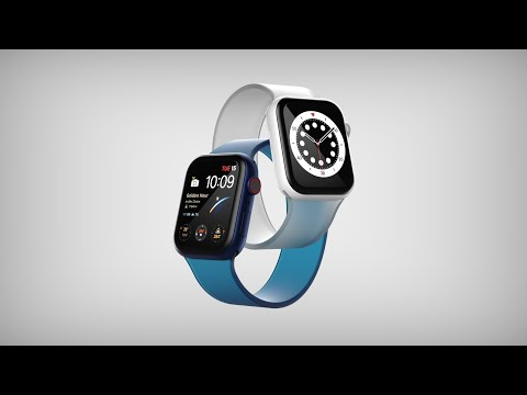 APPLE WATCH 6 - SHORT ANIMATION