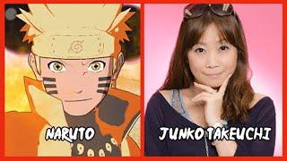 Characters and Voice Actors - Naruto Shippuden: Ultimate Ninja Storm 4 (English & Japanese)