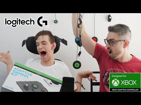 External Review Video nT-Fnz7rf1A for Logitech G Adaptive Gaming Kit (943-000318)