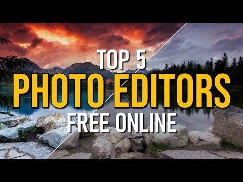 Top 5 Best FREE PHOTO EDITORS Online