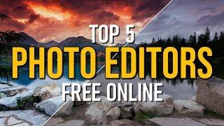 Top 5 Best FREE Photo Editors Online (2019)