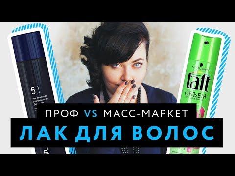 Лак для волос: Профессиональные средства VS Масс-маркет