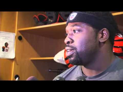 Robert Geathers on Harrison and importance of draft