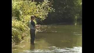 Наливной поплавок для ловля голавля нахлыстом