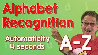 Alphabet Automaticity | Upper Case | 4 Seconds | Jack Hartmann
