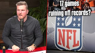 Will A 17 Game Season Hurt NFL Records?