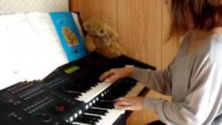 Playing Electronic Piano ~もののけ姫より~アシタカ聶記