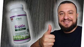 Biotin für den Bart   Darum ist Biotin wichtig für deine Haare   Woche 31  Kniescheibe