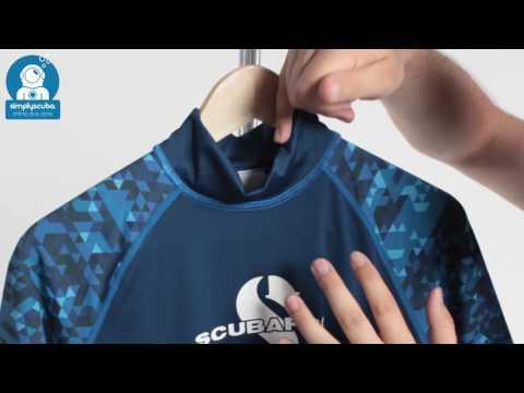 Scubapro UPF50 Mens Rash Vest - www.simplyscuba.com