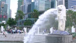 preview picture of video 'アキーラさんお勧め!!シンガポール・マーライオン!! Singapore'