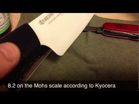 Kyocera Ceramic Knife Review