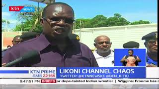 Chaos at Likoni ferry as police take charge