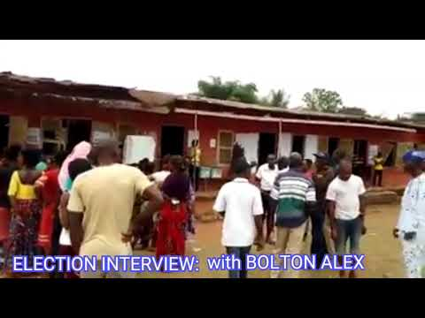 Election 2019 Interview with BOLTON ALEX.