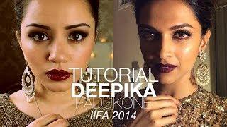 Tutorial | Deepika Padukone 2014 IIFA Awards Make-up Look | Kaushal Beauty