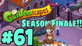 GARDENSCAPES NEW ACRES #61 Gameplay Story Playthrough | Area 10 New Castle Area Day 4