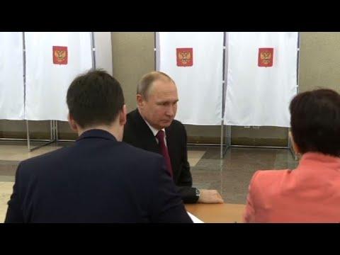 Vladimir Putin in Russian presidential election