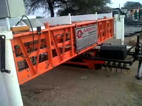 Concrete Road Paver Machine