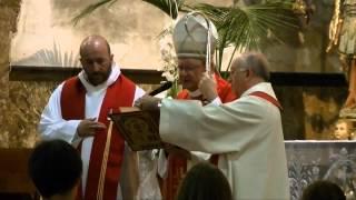 preview picture of video 'Confirmació de 23 joves a la Parròquia de Porreres 06-07-13'