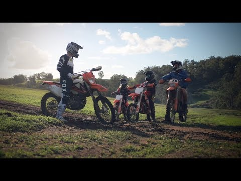 THE PROTEGES II - KTM500EXC - 85SX - 50SX