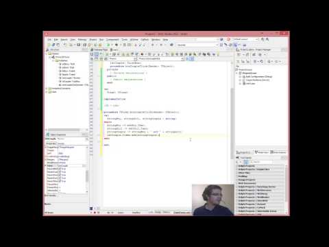 Delphi Programming Tutorials #5 Some String manipulation and ListBoxes