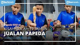 VIRAL Kisah Bocah 12 Tahun di Depok Jualan Papeda karena Ingin Beli HP Baru